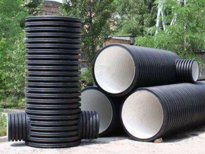 Пластиковые трубы для углубления колодца