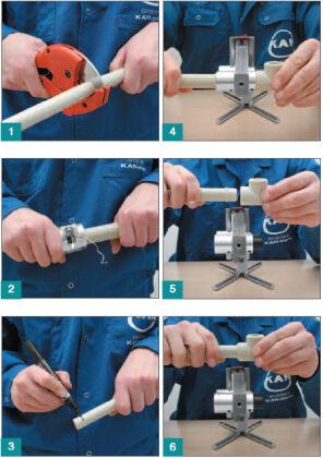 Пошаговая технология пайки полипропиленовых труб