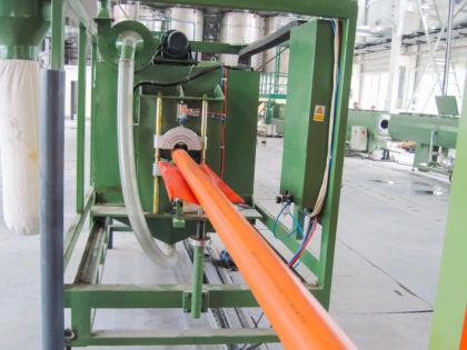 Производство ПВХ труб канализационных