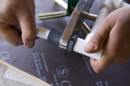 Сварочный аппарат для соединения пластиковых труб