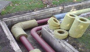 Утепление труб наружной канализации