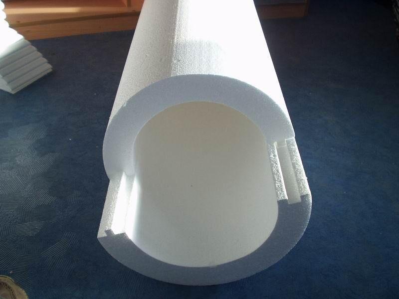 Теплоизоляция для труб диаметром 50 мм скорлупа