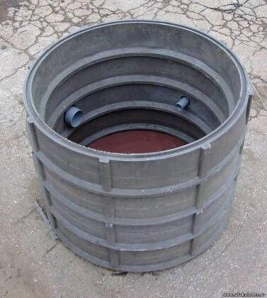 Большие кольца для канализационных колодцев