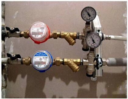 Измеряем объем потребленной воды