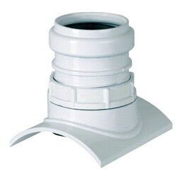 Накладка-адаптер для пластиковой трубы