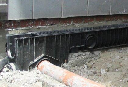 Подключение пескоуловителя к канализационной трубе
