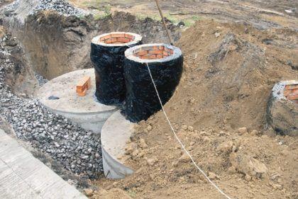 Пример обустройства бетонного септика своими руками