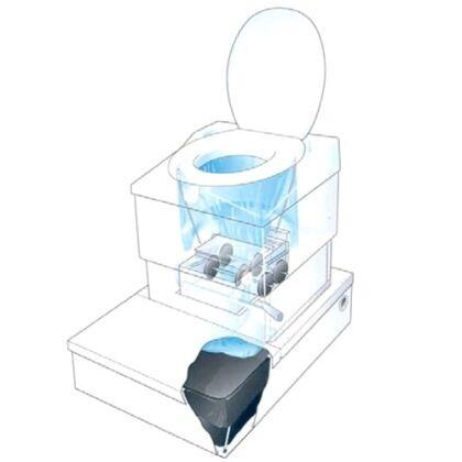 Туалеты безжидкостные одноразовые
