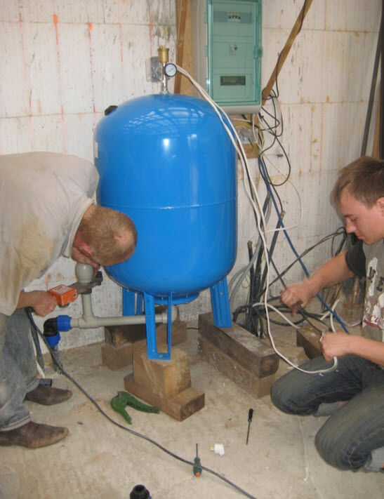 Гидроаккумулятор для системы отопления своими руками 43