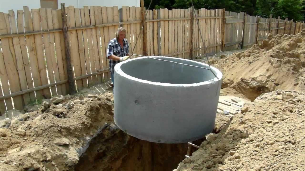 Выгребная яма своими руками без бетонных колец 52
