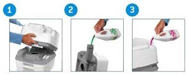 Обслуживание жидкостного биотуалета
