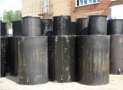 Готовые стальные кессоны для утепления скважин