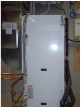 Жидкостно-воздушный тепловой насос