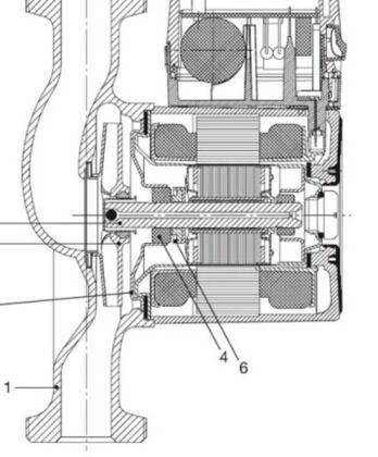 Схема насосного оборудования