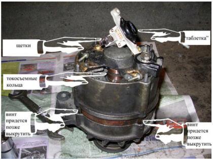 Электродвигатель насоса