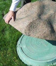 Декорирование крышки кессона