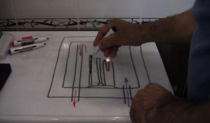 Трубка термодатчика на схеме
