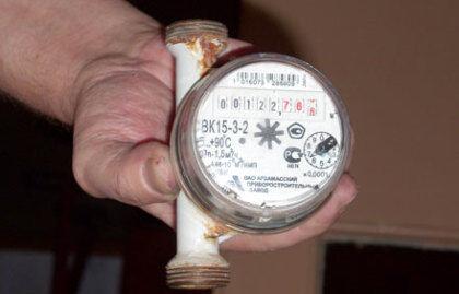 Установка пломбы требуется при поломке водомера