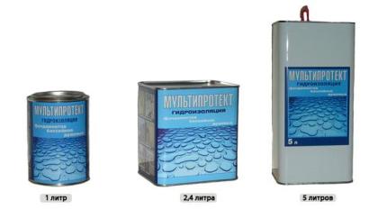 Жидкая гидроизоляция с пропиткой