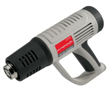 Используем для нагрева строительный фен