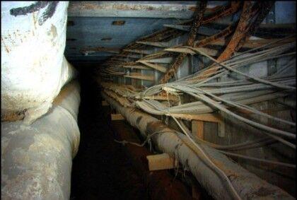 Кабель в тоннеле