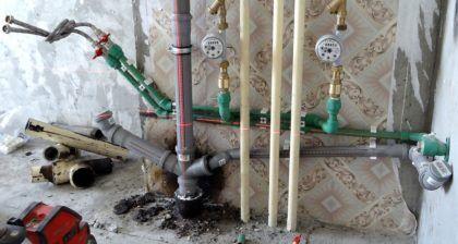 Новая канализация в квартире