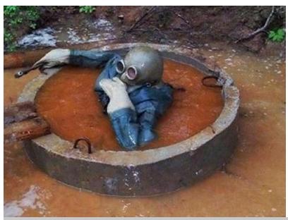 Своими руками почистить выгребную яму