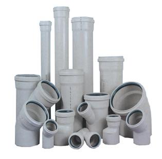 Пластиковая канализация состоит из множества элементов