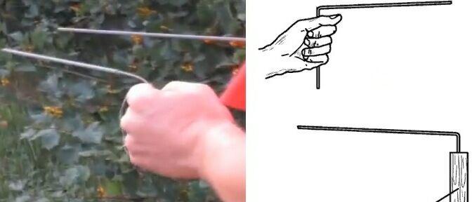 Как найти воду на участке своими руками с фото и рисунком