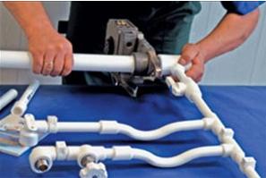 Сварное соединение полипропиленовых водопроводных труб