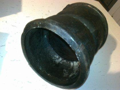 Фото муфты для соединения канализационных труб