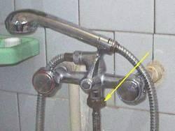 Включение в систему через смеситель