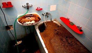 Как прочистить канализацию в ванной