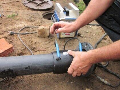 Электросварка полиэтиленовых труб