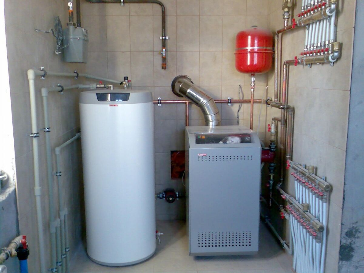 коллекторная схема отопления коттеджа