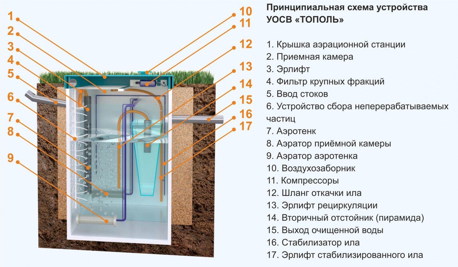 Септик Тополь