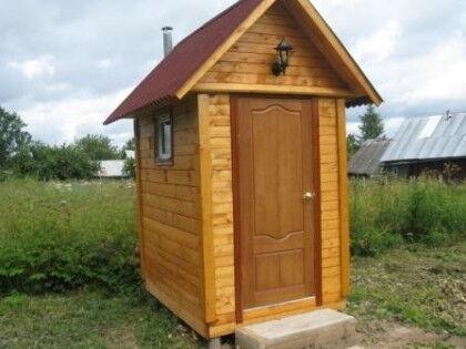 Дачный туалет с септиком - это удобно и экологично