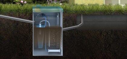 Автономная канализация дома ТОПАС 8