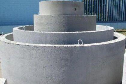 Бетонные кольца и доборы имеют разный диаметр и высоту