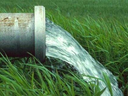 Сброс очищенной воды из септика