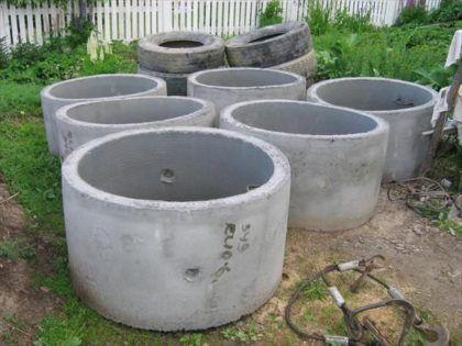 Бетонные кольца для септиков