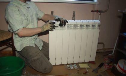 Далее нужно взять новый радиатор