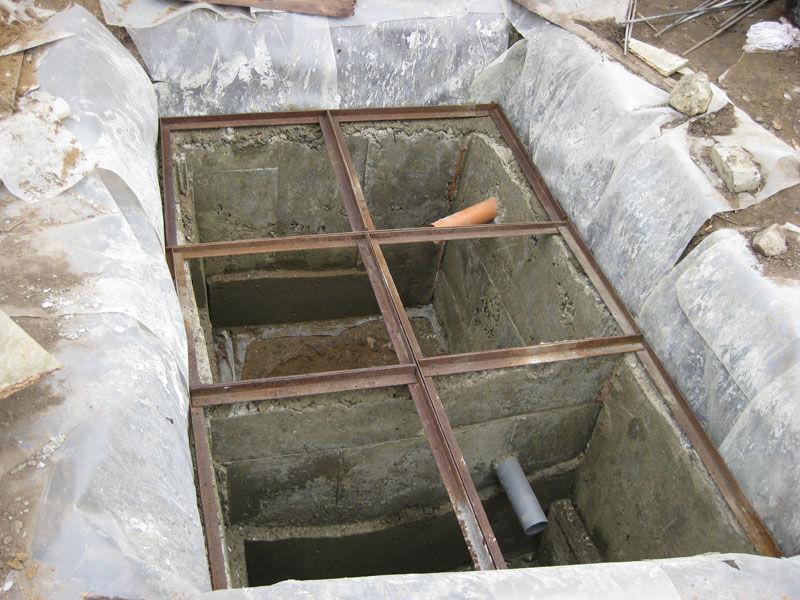 Выгребные ямы своими руками их размеры 175