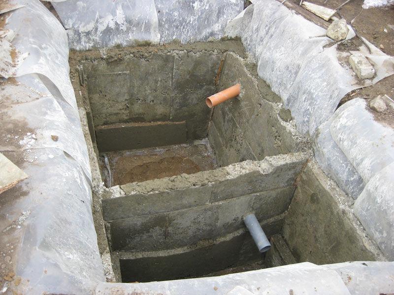 Септик для выгребной ямы своими руками 354