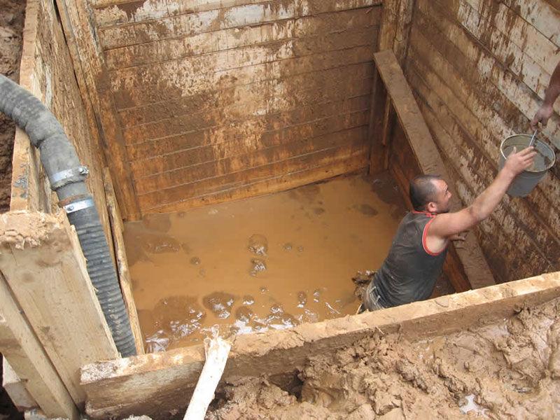 Туалет при высоких грунтовых водах своими руками