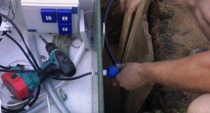 Подключение септика к системе электроснабжения