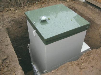 Септик «Топас» - один из этапов установки