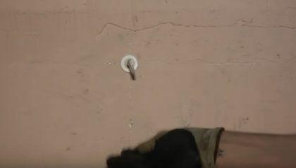 Установленный крепеж для радиатора