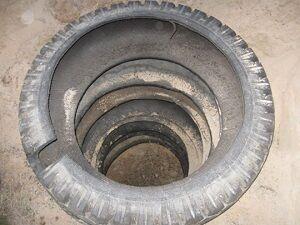 Покрышки от автомобильных колес