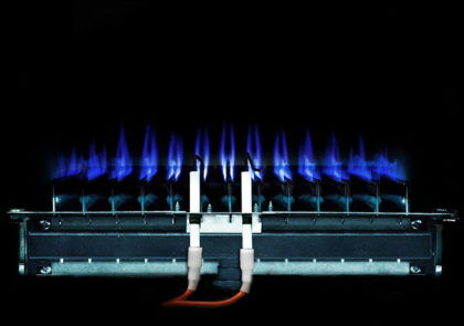 Внешний вид атмосферной горелки для газового котла